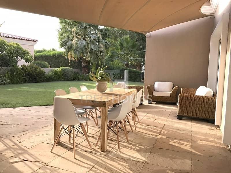 17 Upgraded  Opposite to Park  Pristine villa