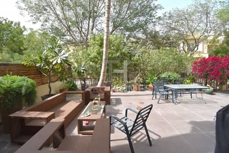 3 Bedroom Townhouse for Sale in Green Community, Dubai - Nice Corner House next to Park  | V.O.T