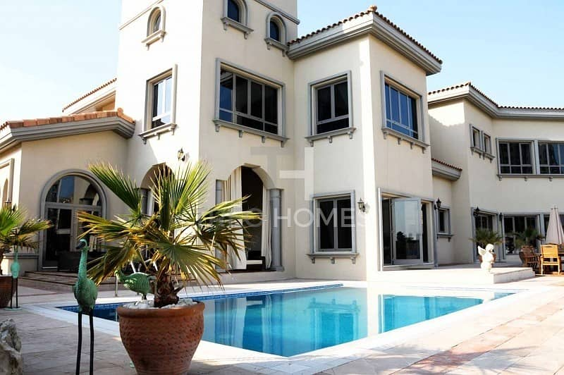 15 Upgraded Villa | Fully Furnished | Marina View