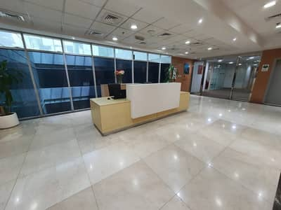 Office for Rent in Al Qasimia, Sharjah - Fully Furnished Office with FREE Wi-Fi and Business Lounge available in Al Qasimia area, Sharjah