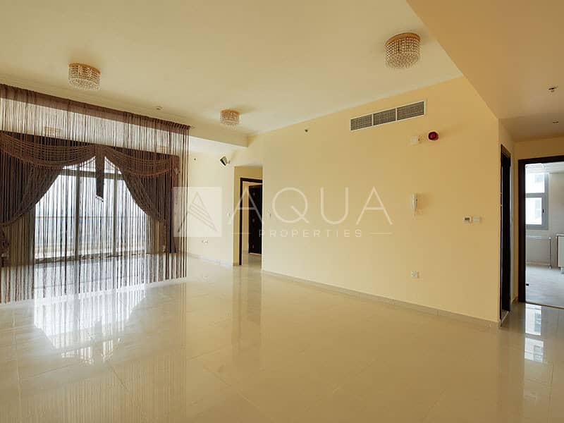 2 Magnificent 2 Beds with Balcony | Low Floor
