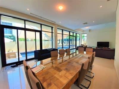 فیلا 5 غرف نوم للبيع في داماك هيلز (أكويا من داماك)، دبي - 5 Beds Villa with Private Pool & Solar Panels