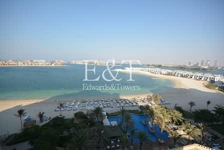 فلیٹ 1 غرفة نوم للايجار في نخلة جميرا، دبي - High Floor | Stunning Sea Views | Beach and Pool