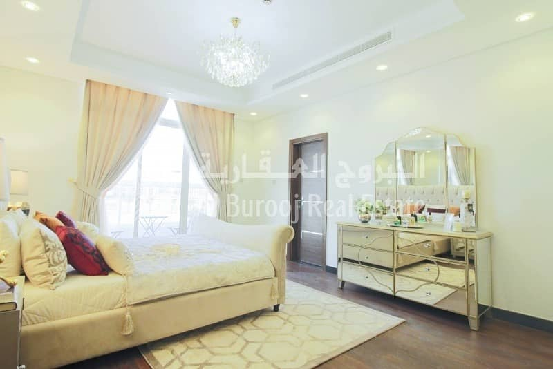 Stylish Townhouse in Al Burooj Residence V at Al Furjan