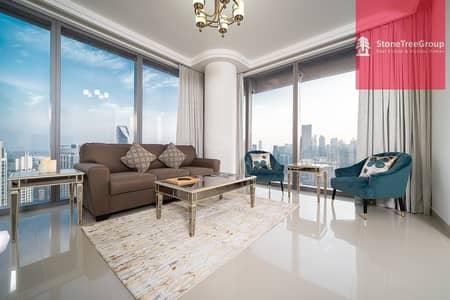 2 Bedroom Apartment for Rent in Downtown Dubai, Dubai - Luxurious 2 BR in Downtown | Boulevard Point | Burj Khalifa Views