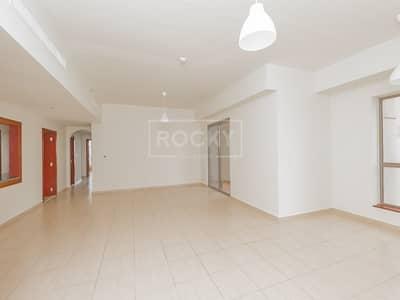 2 Bedroom Flat for Rent in Jumeirah Beach Residence (JBR), Dubai - 2 Bed | Higher Floor | Rimal 4 | JBR