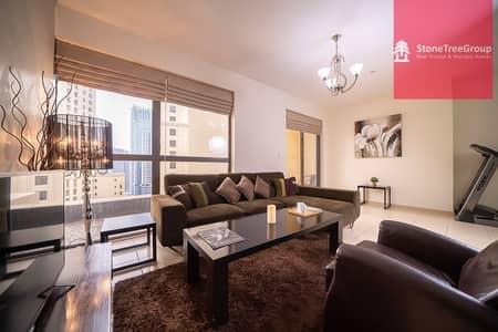 1 Bedroom Flat for Rent in Jumeirah Beach Residence (JBR), Dubai - Furnished 1 BR in JBR   Murjan 2   All bills Inclusive!