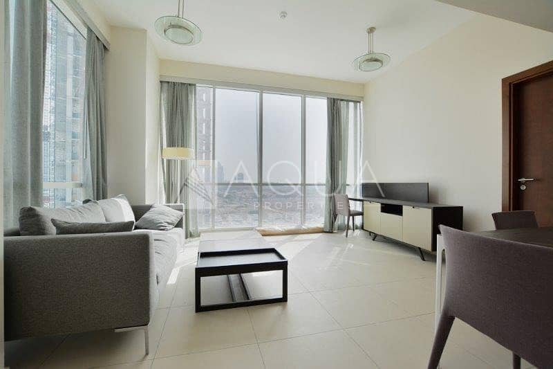 Furnished Unit | Superb Sea Views | High Floor