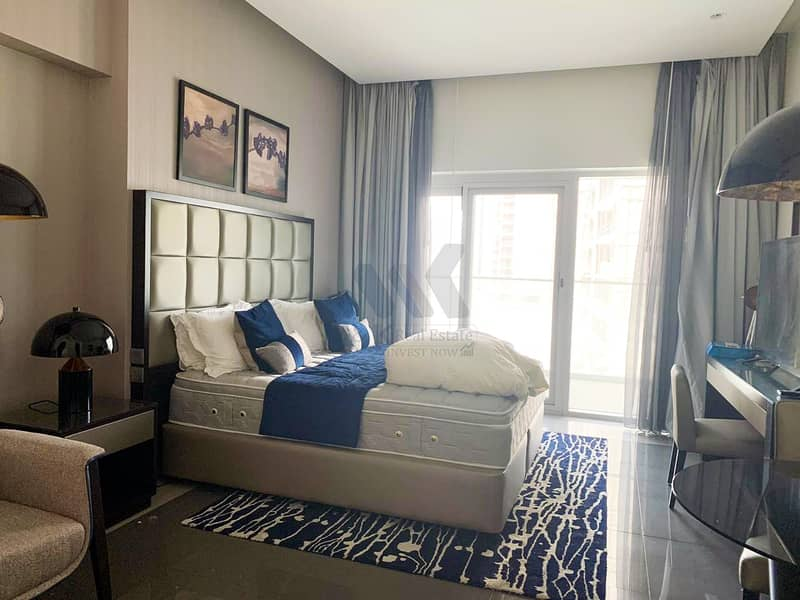 Bay Square View   Fully Furnished   Biggest Studio
