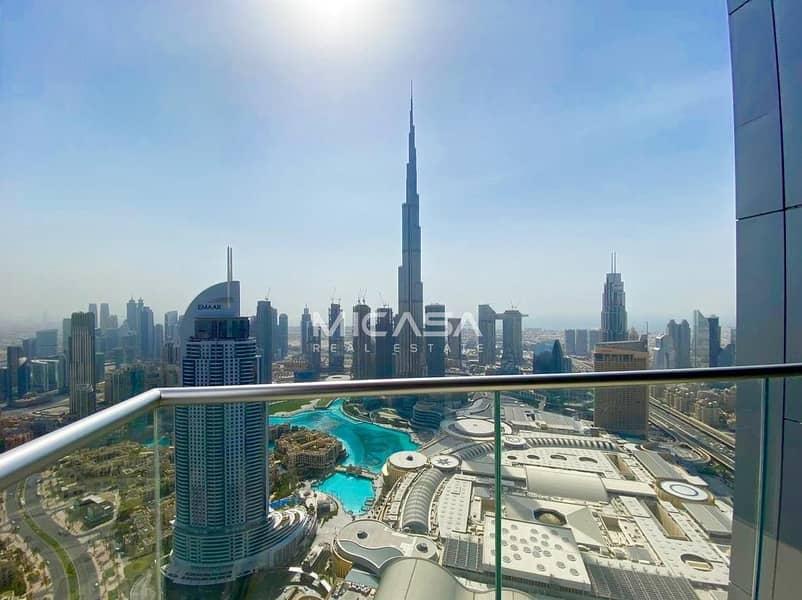 Burj & Fountain View|High Floor|Exclusive
