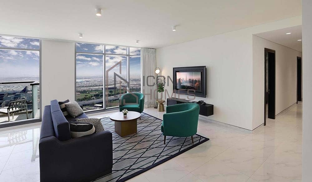 LUXURIOUS FULLY FURNISHED 2 BR IN THE ATRIA