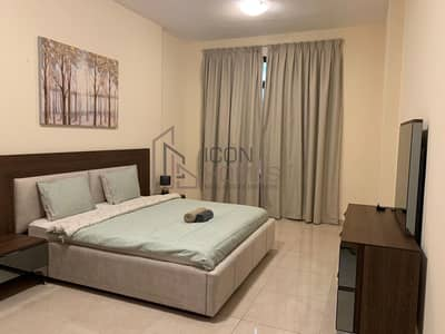 2 Bedroom Apartment for Rent in Jumeirah Village Circle (JVC), Dubai - SPACIOUS BEAUTIFUL  FULLY FURNISHED APARTMENT NEAR JVC EXIT