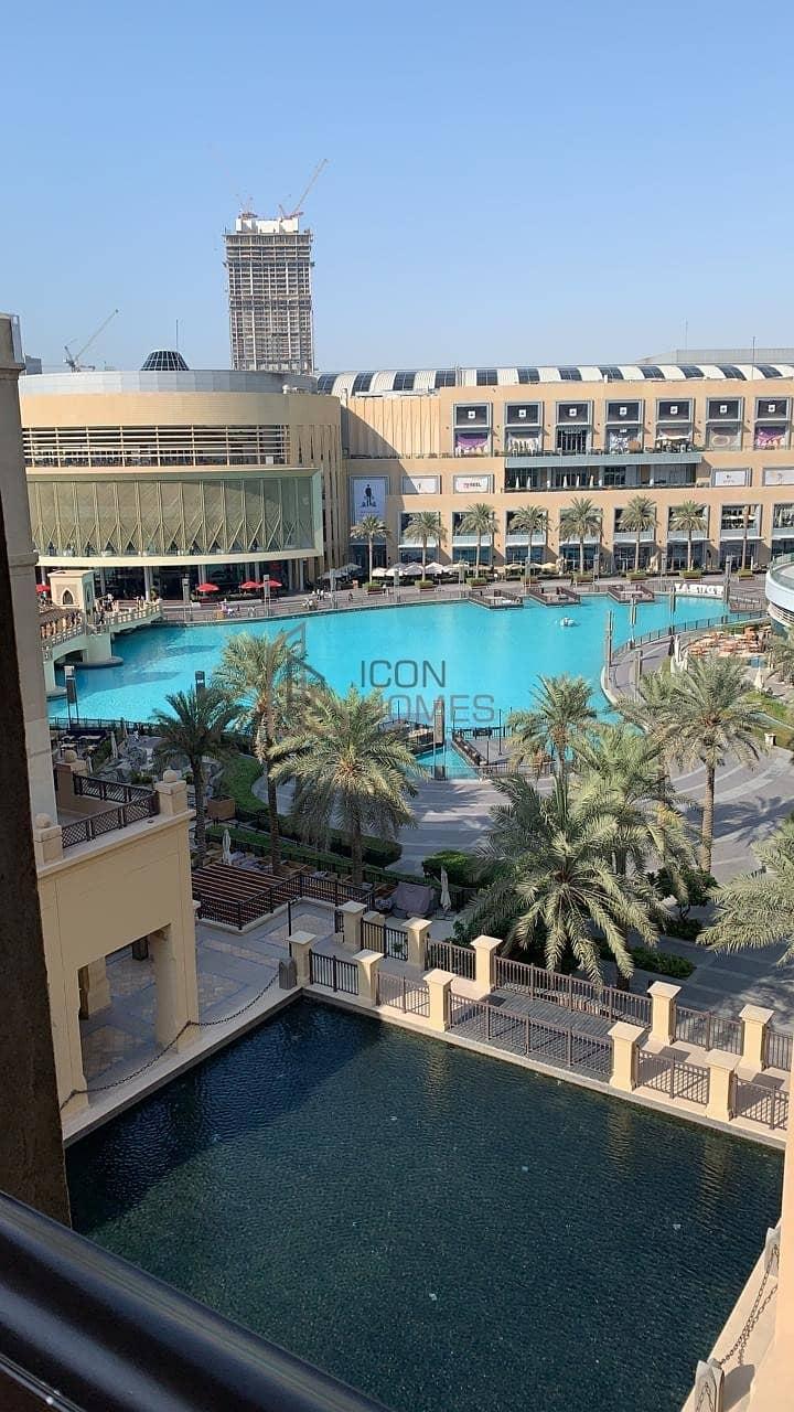 8 Furnished 1BR |Fountain View & Burj Khalifa View