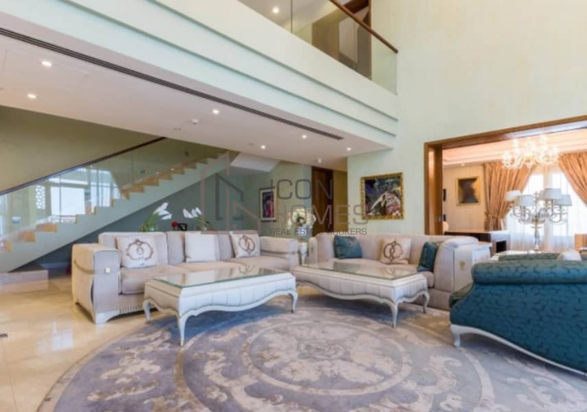 2 Fully furnished penthouse | sea view | High floor