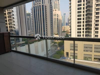 1 Bedroom Flat for Rent in Downtown Dubai, Dubai - Large Terrace - Strategic Center Position