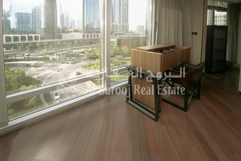 10 Fully Furnished 1-BR at Armani Residence Downtown