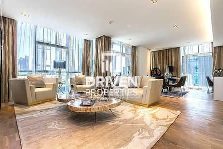 3 Bedroom Flat for Rent in Jumeirah, Dubai - Luxurious Corner Unit | Burj Khalifa Skyline View