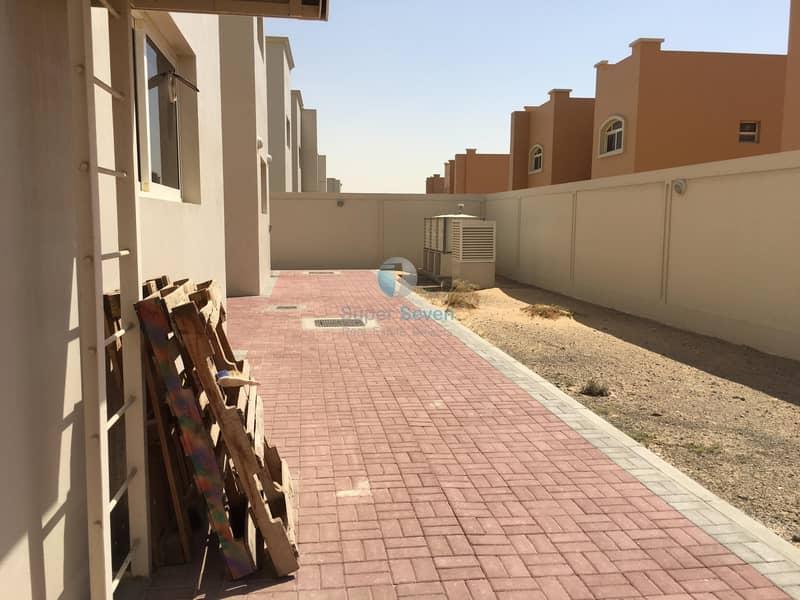 15 Large 5-Bedroom +maid room villa for rent Barashi Sharjah