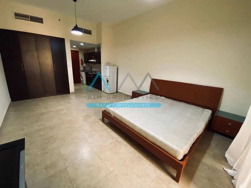 2 Spacious Fully Furnished Studio In Silicon Oasis 20K