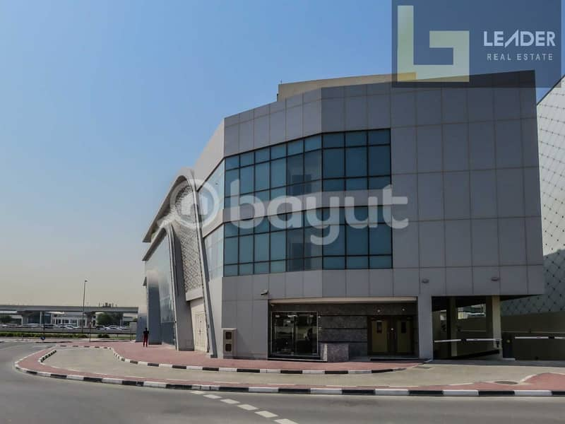 11 Office for rent  I Next to the Bentley showroom I 2 mint walk in distance from FAB Metro station