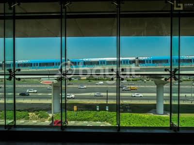مکتب  للايجار في القوز، دبي - 30 days free I Shell 'n' Core office for rent I Near BMW Showroom I NEGOTIABLE