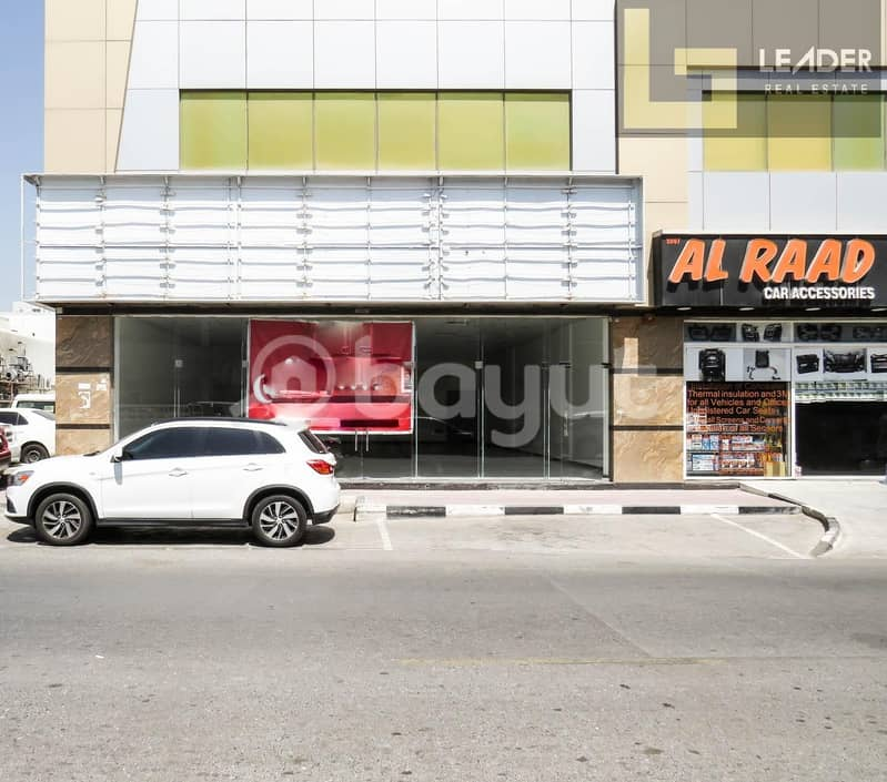 2 Retail Store for Rent / 30 Days Free period / 1883 SQFT