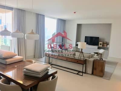 3 Bedroom Flat for Rent in Downtown Dubai, Dubai - Luxury Furnished 3 BR + Maid w/ Full Burj Khalifa & Fountain View | Large Balcony
