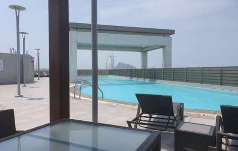 فلیٹ 3 غرف نوم للايجار في أم الشيف، دبي - Upgraded 3BR Apartment With Burj Al Arab View
