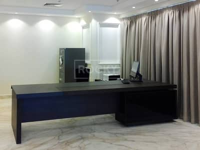Office for Rent in Sheikh Zayed Road, Dubai - Fitted | Office with Partition | 3 Parking | Latifa Tower