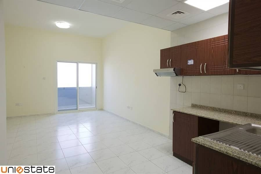 2 Balcony Studio Available on Monthly Basis in RAK Tower