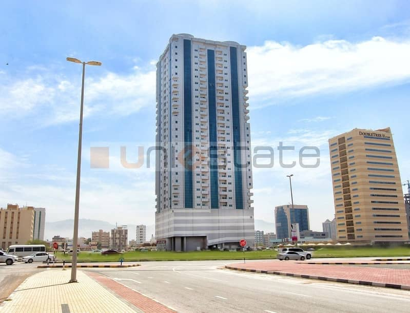 Balcony Studio Available on Monthly Basis in RAK Tower