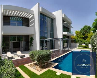 Premium villa  Crystal lagoon beach view    MBR City