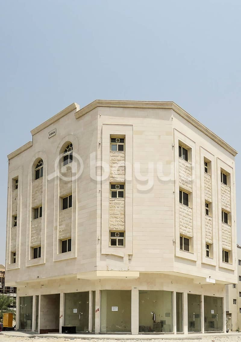 Brand new Building in Mwaleh for Sale with income: approx 280K  In Fantastic location , 3900000 is the required price
