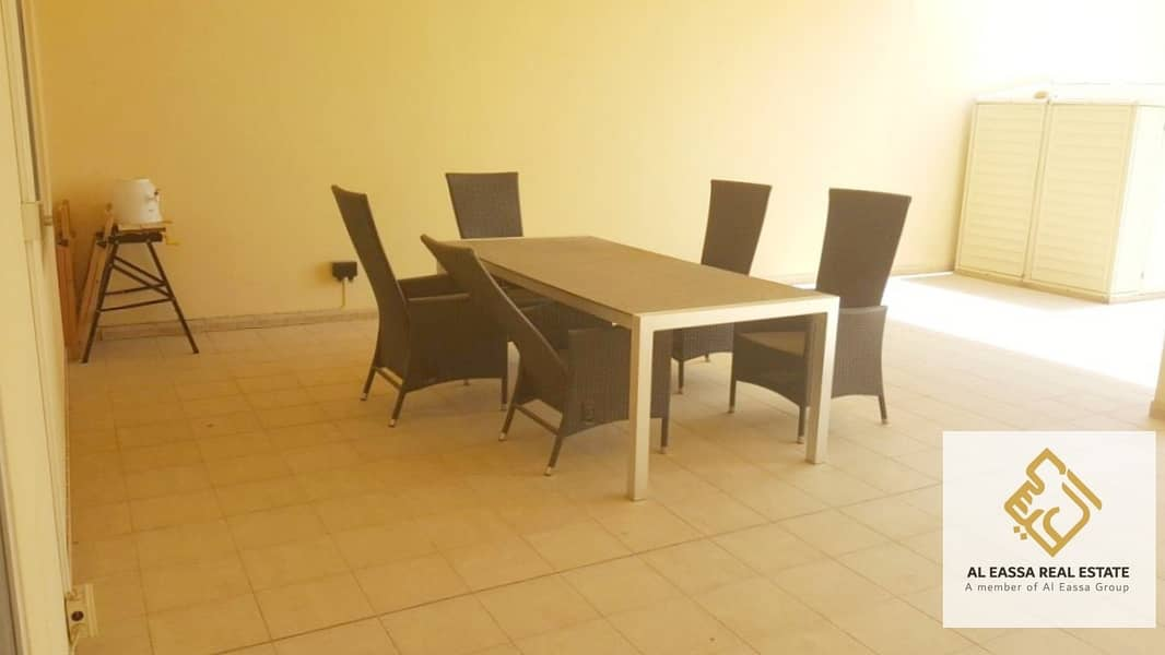 2 Stunning Terrace | Pool view | Semi-furnished 1BR
