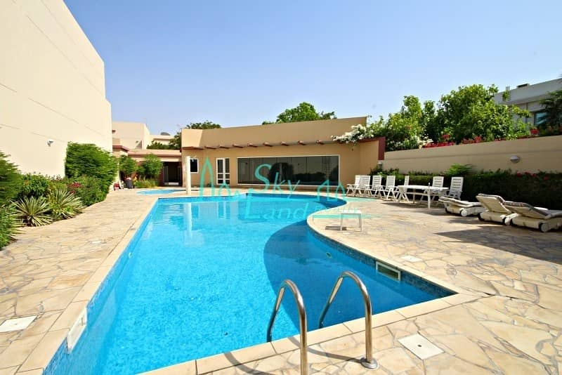 Modern 4 Bed+Study|Private Garden|Shared Pool|Gym
