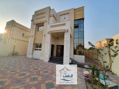 Luxurious design villa, large area, at a special price, Ajman