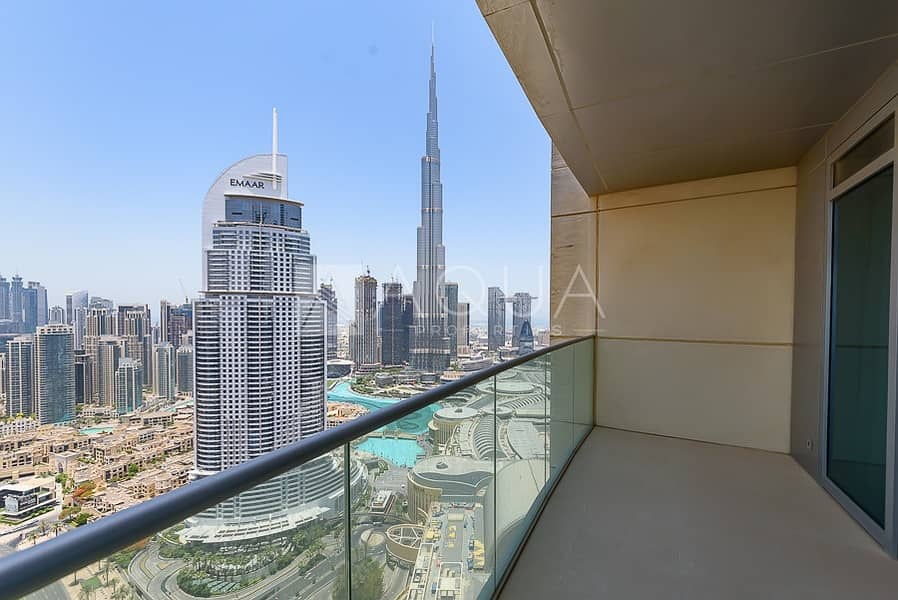 Motivated Seller | 2 Beds With Burj Khalifa View