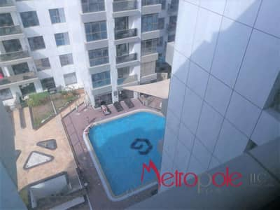 فلیٹ 2 غرفة نوم للايجار في أرجان، دبي - Pool View Semi Furnished 2 bedroom in the best price in Green Diamond Arjan