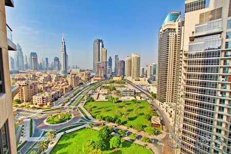 فلیٹ 1 غرفة نوم للبيع في وسط مدينة دبي، دبي - Vacant on Transfer | One Bedroom | Park Views
