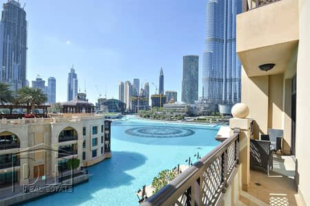 1 Bedroom Apartment for Rent in Downtown Dubai, Dubai - 1 Bed with Fountain View - Fully Furnished|