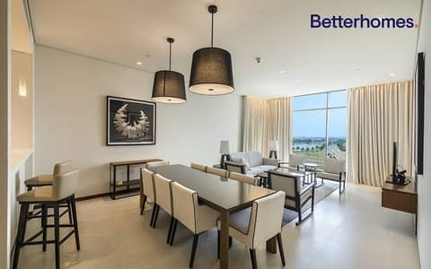 2 Bedroom Flat for Rent in The Hills, Dubai - Furnished   Serviced   Mid Floor   Vacant Now