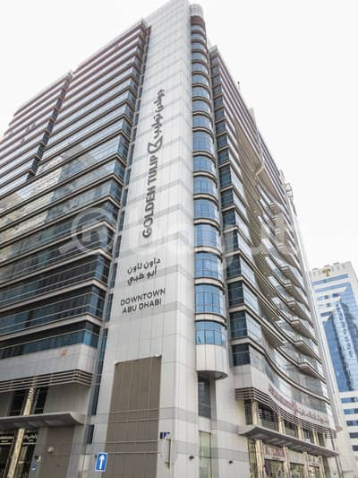 Office for Rent in Hamdan Street, Abu Dhabi - No Commission!!! Huge Fitted Office Space
