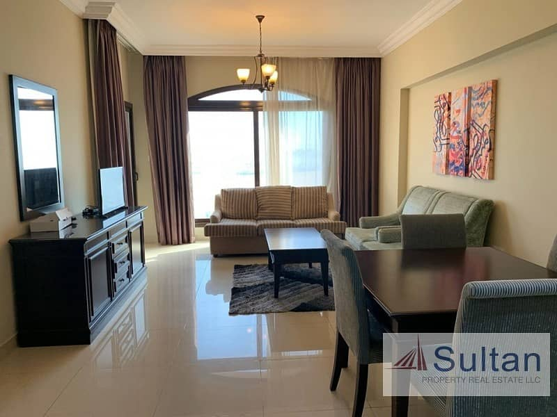 2 Amazing Furnished 1 Bedroom in Marjan Resort and Spa