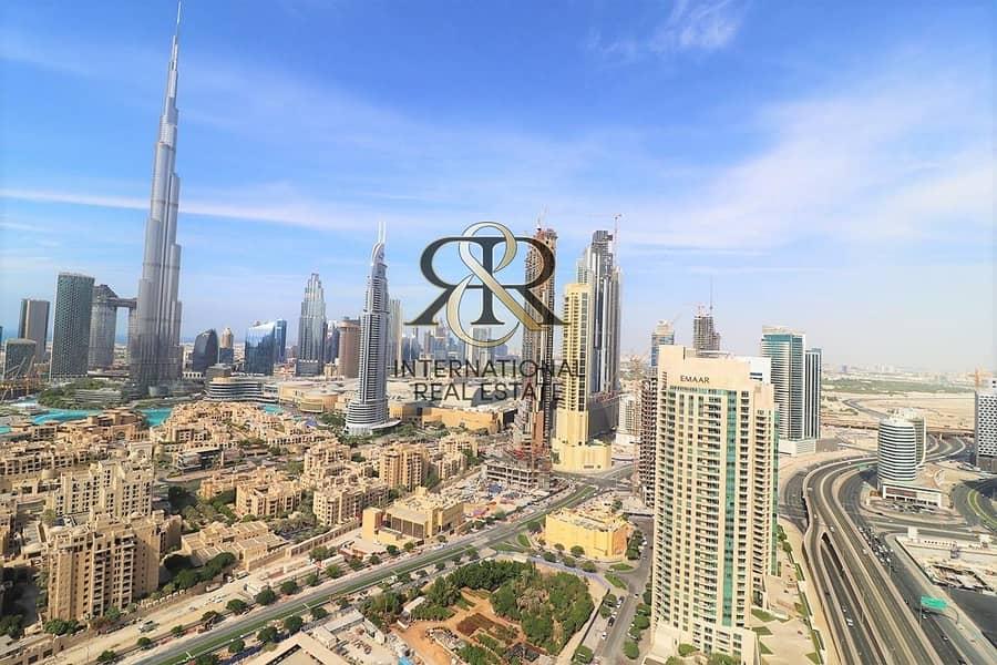 Fully Furnished 1BR | Beautiful Canal and Burj Khalifa Views