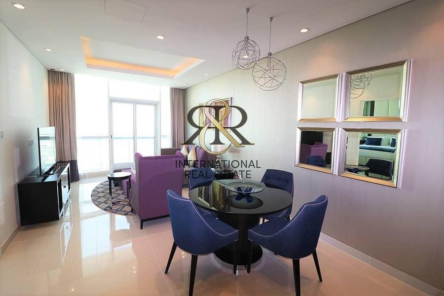 2 Fully Furnished 1BR | Beautiful Canal and Burj Khalifa Views