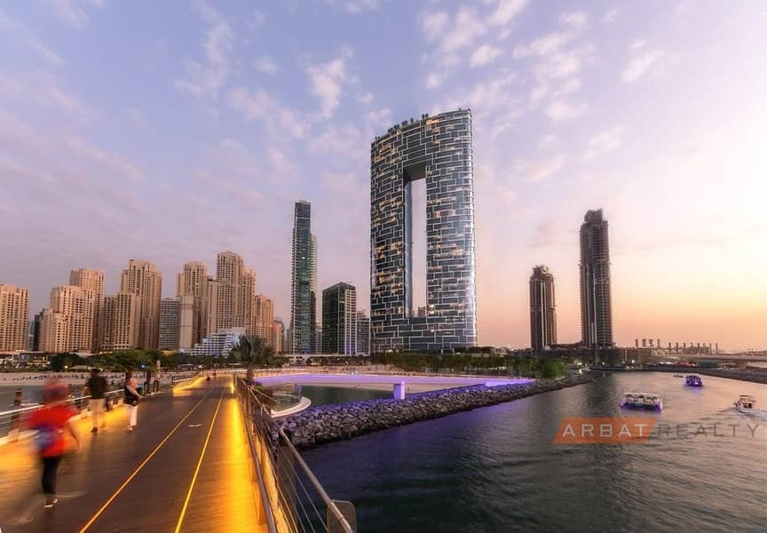 Address Residence  Panoramic Sef and Bluewaters island  view