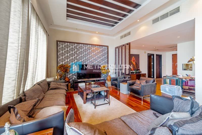 2 Sea View | Furnished | 3 bedrooms plus Maid Room