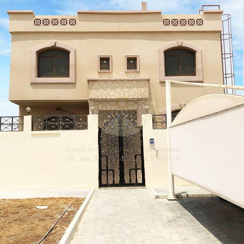STUNNING STAND ALONE 5 BEDROOM VILLA WITH MAID ROOM FOR RENT IN MOHAMMED BIN ZAYED CITY