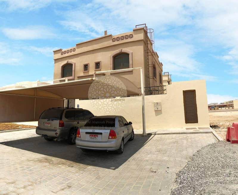 2 STUNNING STAND ALONE 5 BEDROOM VILLA WITH MAID ROOM FOR RENT IN MOHAMMED BIN ZAYED CITY