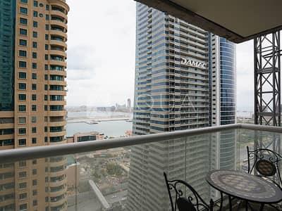 2 Bedroom Flat for Rent in Dubai Marina, Dubai - Sea Views | Chiller Free | Mid Floor Unit